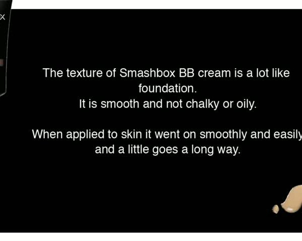 Smashbox BB Cream Review
